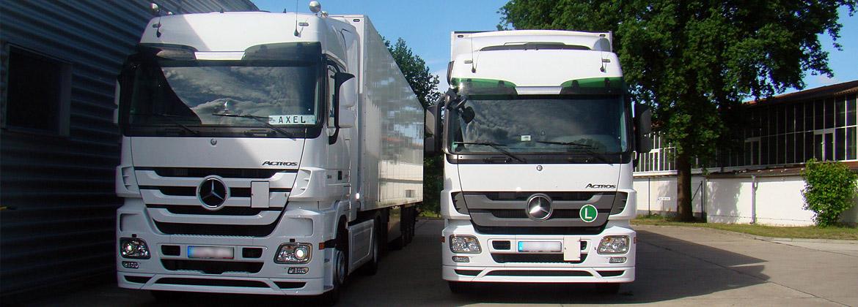 Spedition Koczessa Fahrzeuge